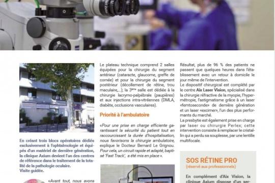 Provence vision est une association d ophtalmologistes - Vision plus salon de provence ...